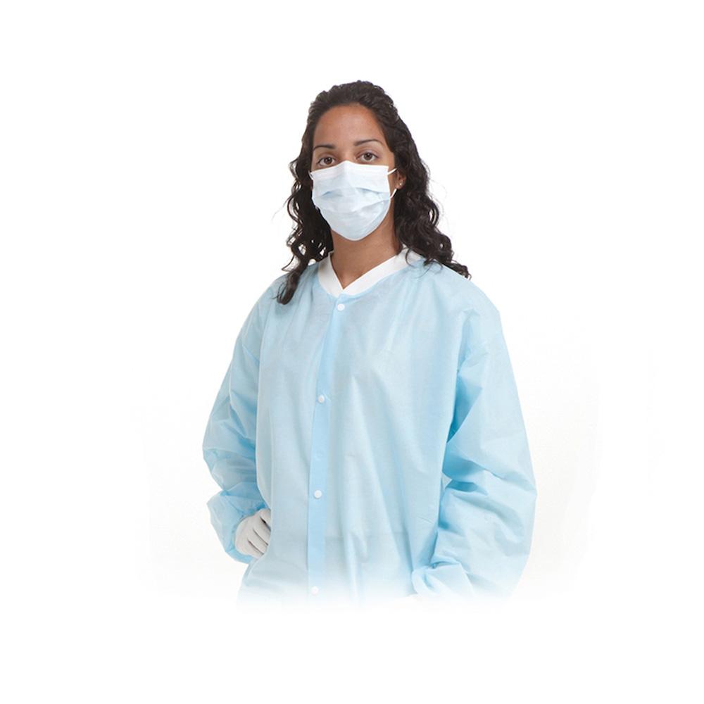 AssureWear® Lab coat blue