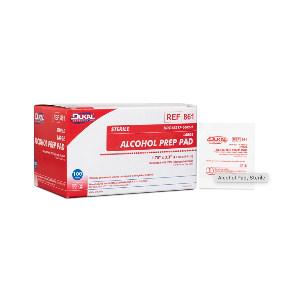 Dukal Alcohol Prep Pad - Sterile